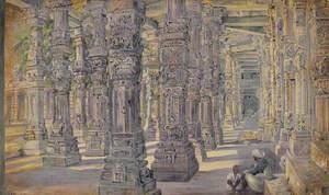 'The Temple. Kutub. Delhi. India. Novr. 1878'