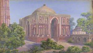 'Gate of Ali Ud Deen. Kutub. Delhi. India. 15 Novr. 1878'