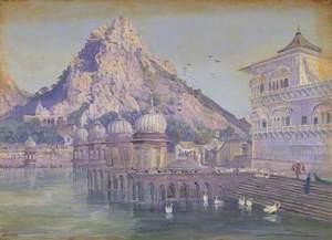'Ulwar. India. Novr. 1878'