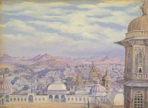 'From the Palace, Oodipore. Janr. 1879'
