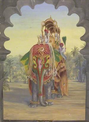State Elephant, Baroda