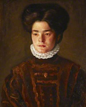 Portrait of a Girl (the Artist's Sister, Sophie)