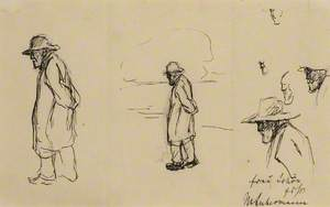 Sketches of Jozef Israels