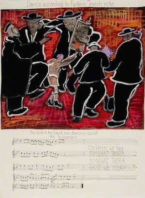Dance According to Eastern Jewish Rite