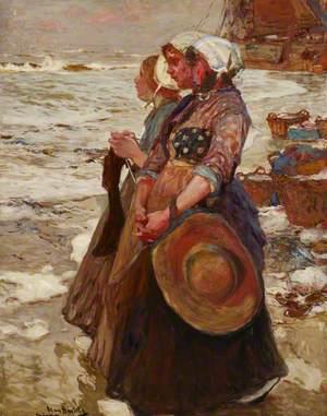 Three Dutch Fishergirls