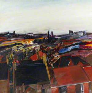 Rooftops over Camberwell