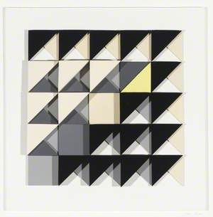 Abstract Construction with Yellow No. 1