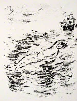 Ferdinand's Supposed Drowning, as Imagined by His Father