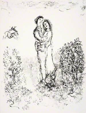 Ferdinand and Miranda Embrace