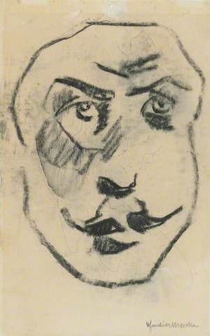 Sculptural Head of Brodzky (1885–1969)