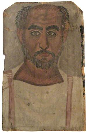 Fayum Mummy Portrait of a Middle-Aged Man*