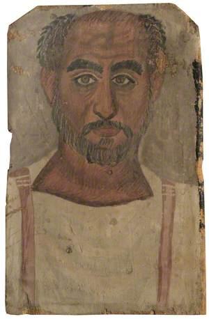 Fayum Mummy Portrait of a Middle-Aged Man*