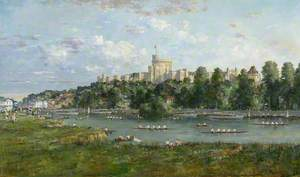The Thames at Windsor – A Regatta Scene