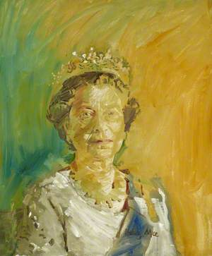Study of HM The Queen (b.1926)