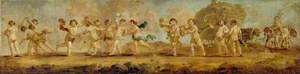 Large Frieze with Dancing Putti