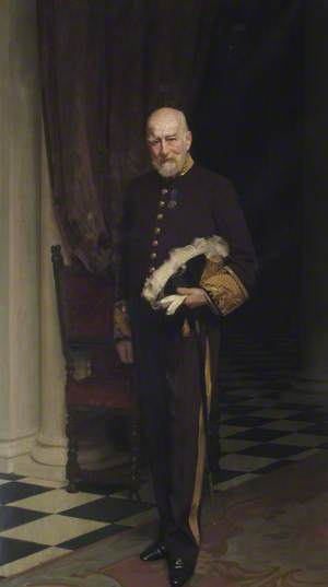 Right Honourable Sir Frederick Halsey (1839–1927), 1st Bt