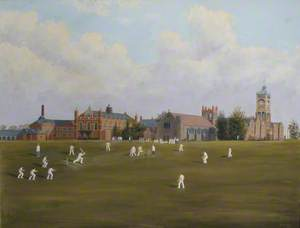Royal Masonic Boys School Cricket Match, Bushey, 1948