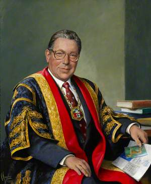 Professor Leo Strunin, President of the Royal College of Anaesthetists (1997–2000)