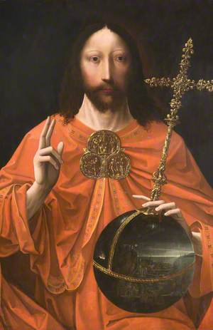 Salvator Mundi (Christ Blessing)