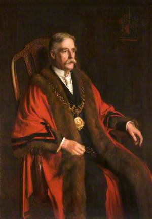 Sir John Meadows Frost (1856–1935), Mayor of Chester (1913–1918)