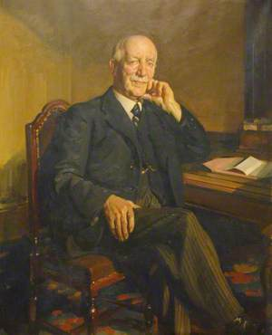Joseph Cooke, Chairman of Cheshire County Council (1940–1944)