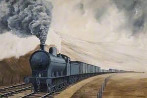 0–8–0 Locomotive on Freight Duty