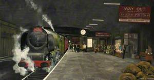 Crewe Number 2 Platform, c.1960