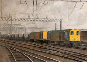Crewe North Junction, 1991: Fiddlers Ferry to Silverdale Coal Empties