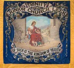 Banner from Trinity Junior Church, Leek