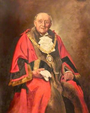Councillor J. W. Flather, JP, Charter Mayor of the Borough of Ellesmere Port (1955–1956)