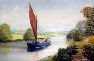 The Daresbury on the Weaver Navigation