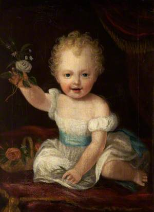 The 3rd Lord de Tabley (1835–1895), Aged Two Years