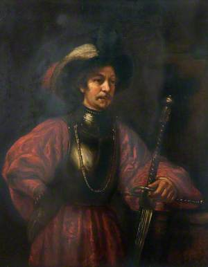 The Sword Bearer (Portrait of a Man in Military Costume)