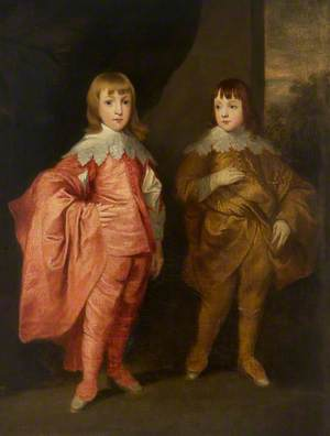 George Villiers (1628–1687), 2nd Duke of Buckingham, and His Brother, Francis Villiers (1629–1648)
