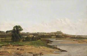 Halton Castle, Cheshire, from Fiddler's Ferry