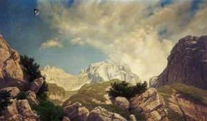 Mountain Scene, Switzerland