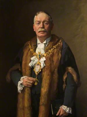 Alderman Sir Peter Peacock (d.1948), JP, Mayor of Warrington (1913–1919)