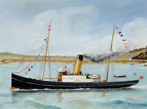 Royal Mail Ship Courier Dressed Overall