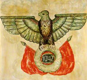 German Standard with an Eagle