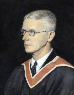 The Reverend Dr Francis Hardy, MA, LLD, Headmaster of Elizabeth College (1924–1939)