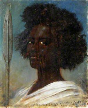 Portrait of an Unknown Black Man