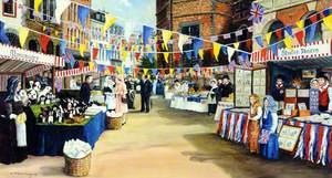 Elizabeth II Visiting Guernsey Market