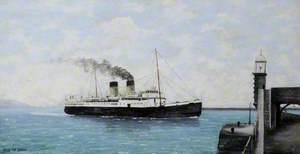 Steamship 'Isle of Sark', Built 1932 (Dunbarton)