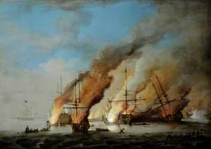 Battle of La Hoque, May 1692