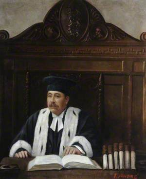 Portrait of an Unknown Bailiff of Guernsey