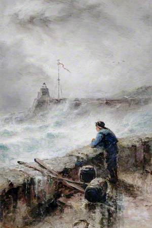 Stormy Winter's Day, St Peter Port Harbour