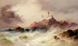 The Casquets Lighthouse