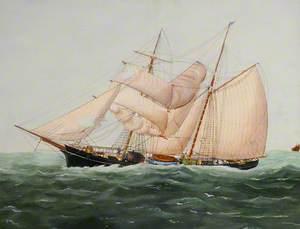 The Brigantine 'Henry' of Guernsey