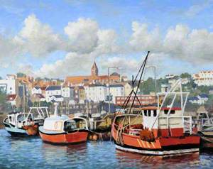 High Tide, Fisherman's Quay