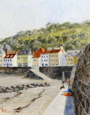 The Slipway at Belgreve Bay, Guernsey